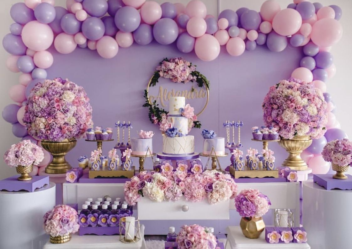 The Details That Were Put Into This Dessert Table Is Unbelievable