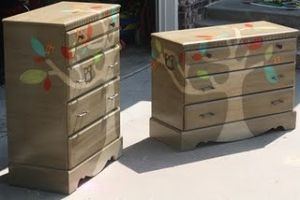 Painted dressers #painted #furniture by summer.strooppike