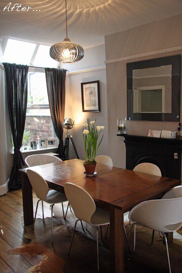 Grey Blk Dining Room