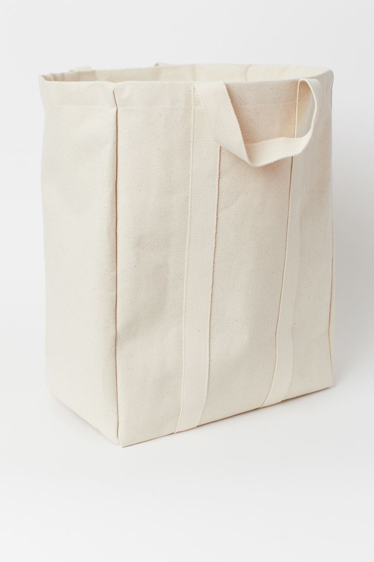 Canvas Laundry Bag In 2020 Canvas Laundry Bag H M Bags