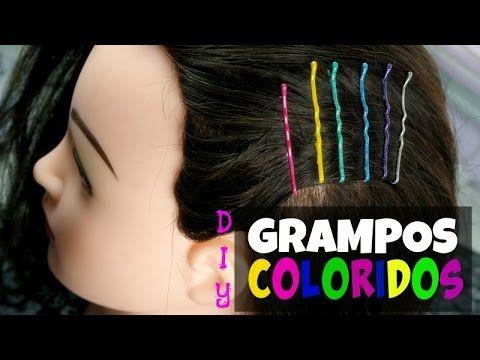 Beauty4Us: DIY: Grampos coloridos