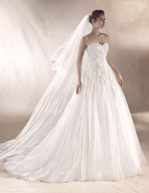 vestido de novia selva | white one 2017 disponible en tienda