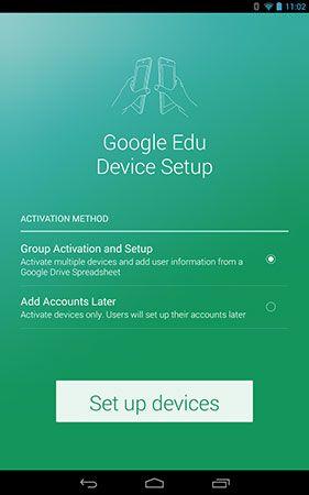 Google\u0027s setup app makes bulk Play for Education tablet activations