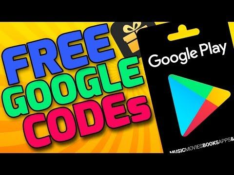 FREE Google Play Codes - Google Play Gift Card Codes Unused - FREE