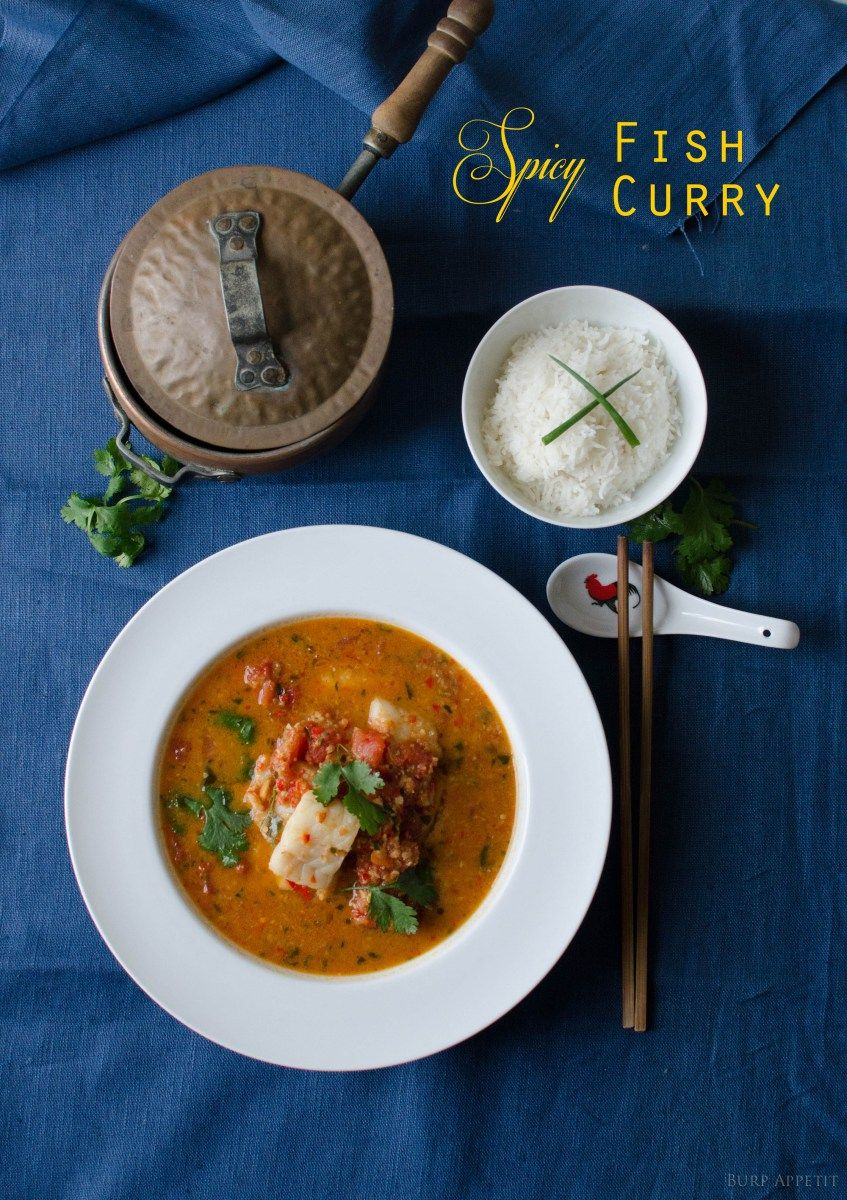 What can I say about curry? It's aromatic, delicious, spicy and very very addictive. Although it makes you sweat, your mouth burns and the strong smell lingers in your kitchen and all over your c...