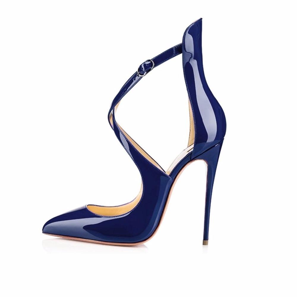 Femme chaussures escarpin lacer High Heels rouge 35 gHWee1kFrB