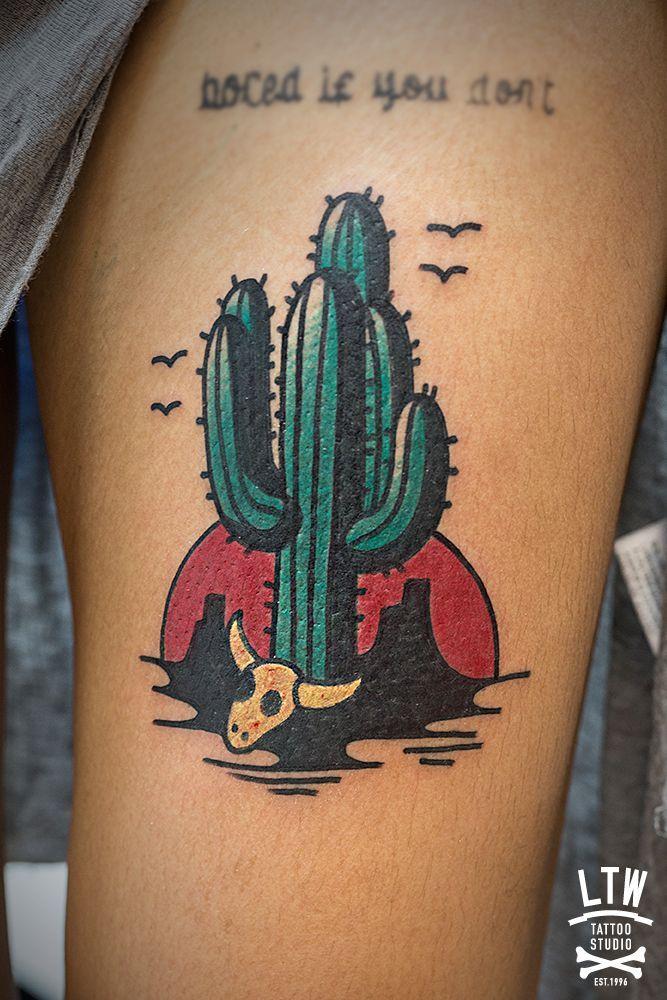 Desert tattoo on pinterest cactus tattoo arizona tattoo for Arizona desert tattoo