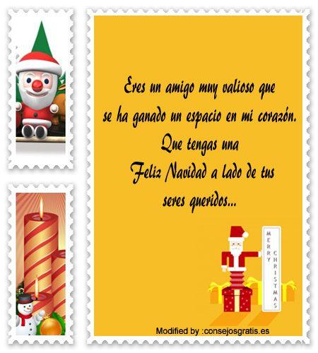 carta para enviar en Navidad,descargar mensajes para enviar en Navidad: http://www.consejosgratis.es/increibles-frases-de-navidad-para-amigos-queridos/