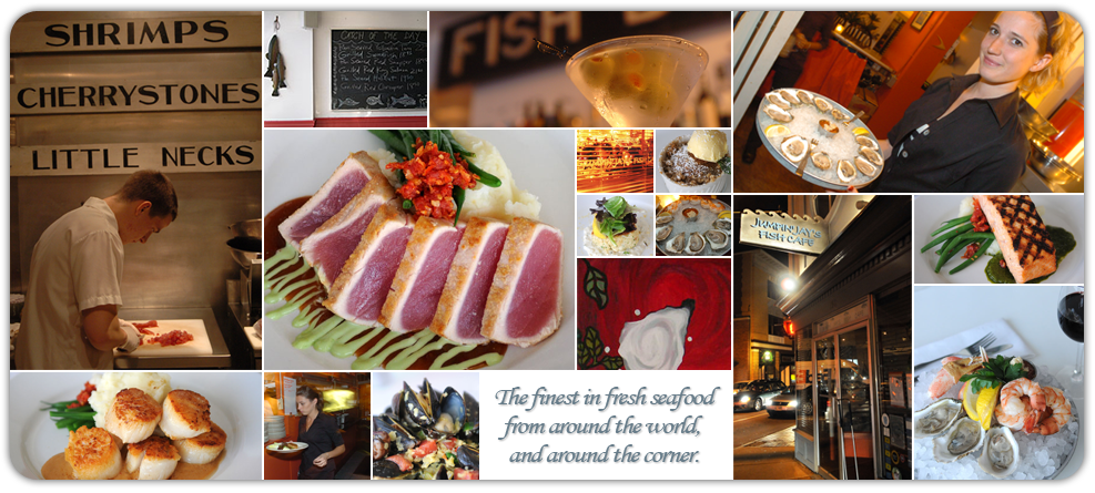 Jumpin Jays Fish Cafe Is A Local Seafood Restaurant And Raw Bar Nestled In Downtown Porstmouth Nh