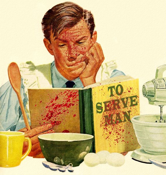 To Serve Man, a tribute to The Twilight Zone!... - Roger Wilkerson, The Suburban Legend!