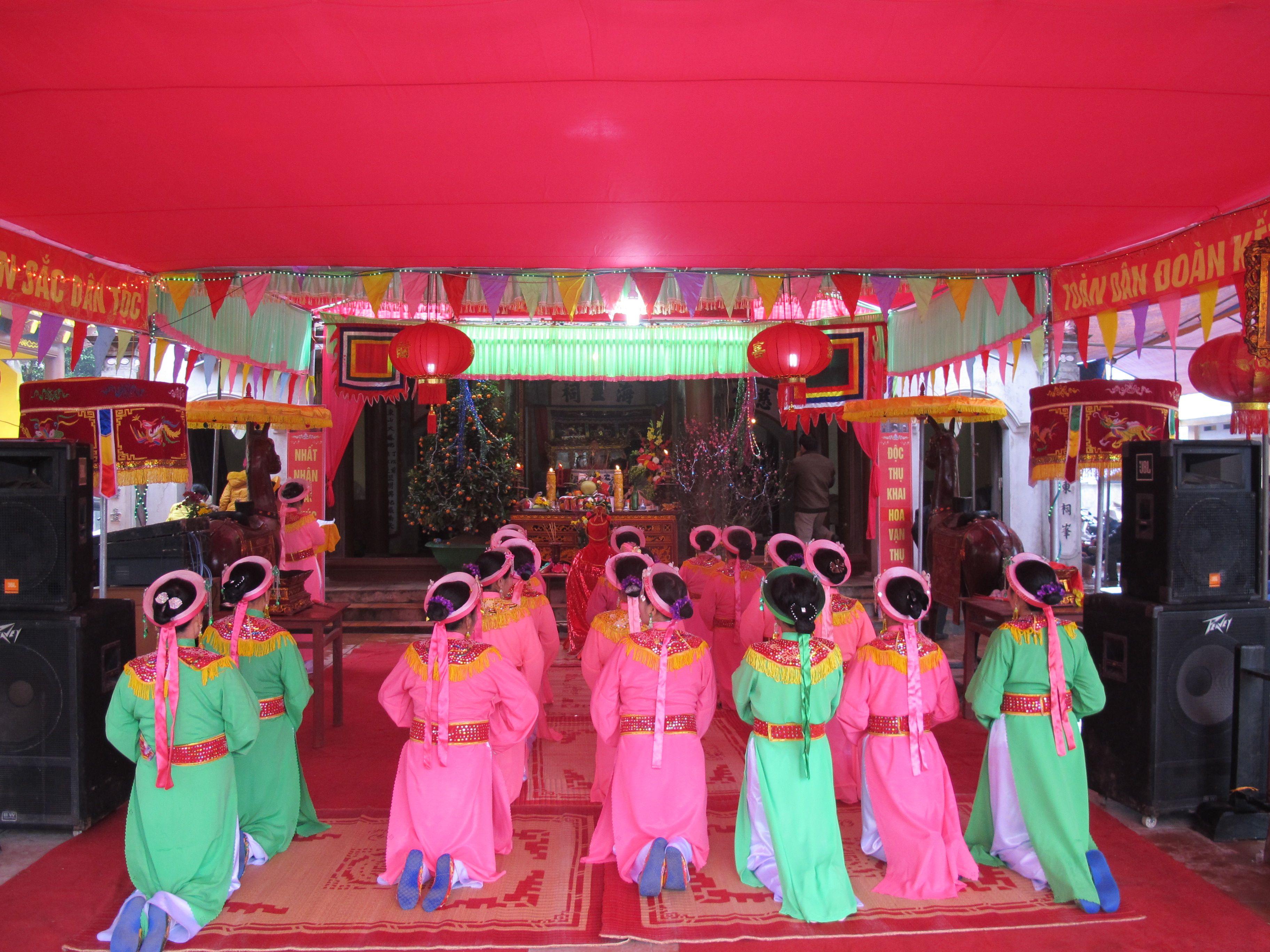 Hội đền Hét - Thái Bình