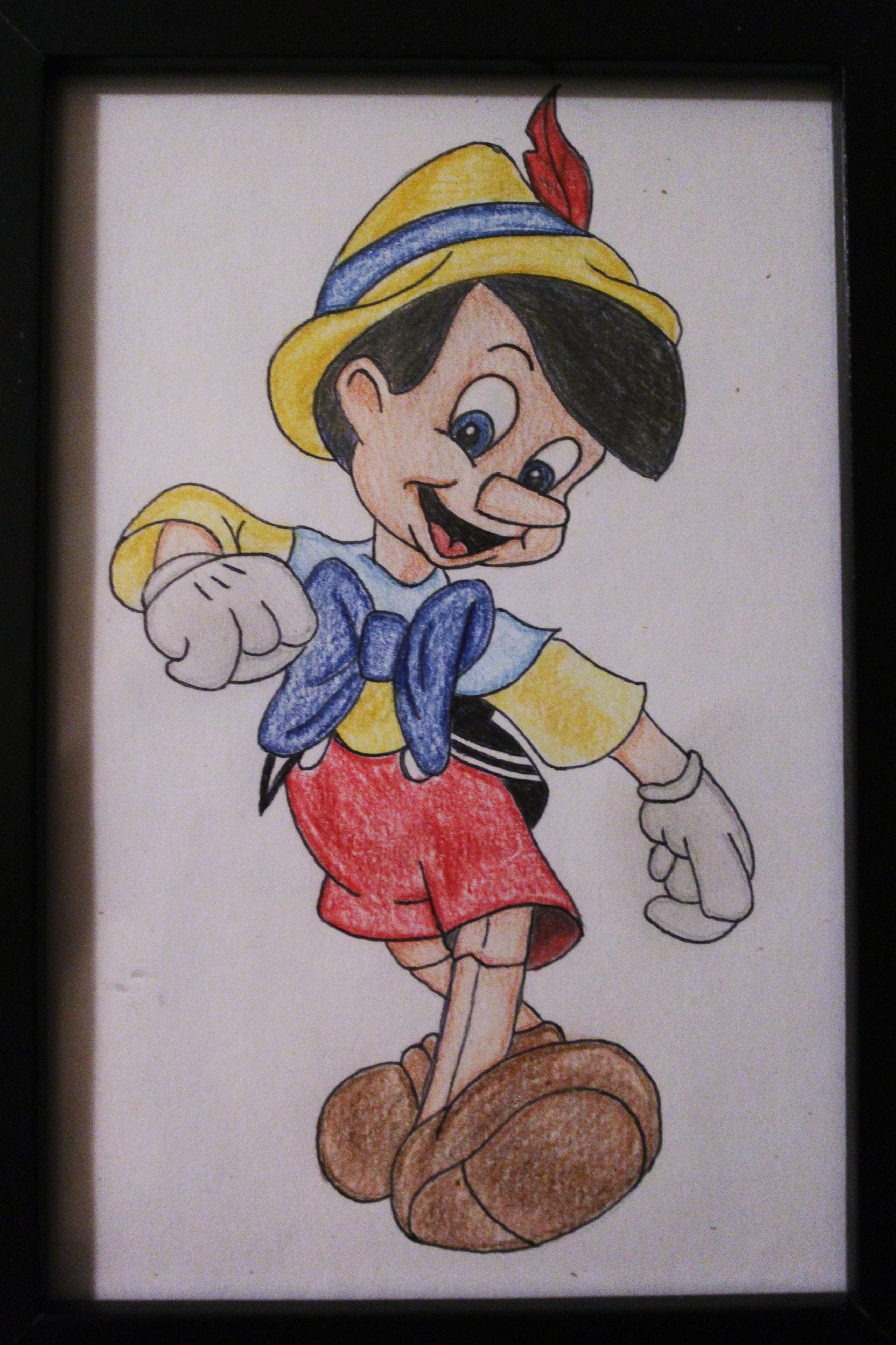 Pinocchio drawing Disney art Dessin Sketch Artwork | Disney ...