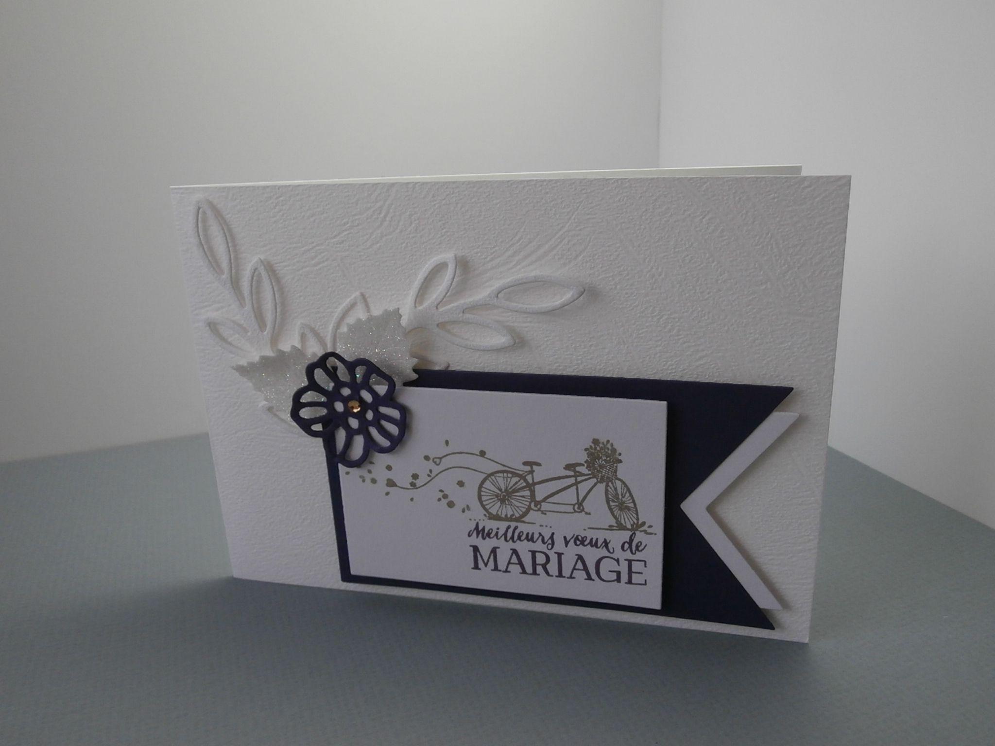 épinglé par isabelle nicola sur mes créations cartes mariage