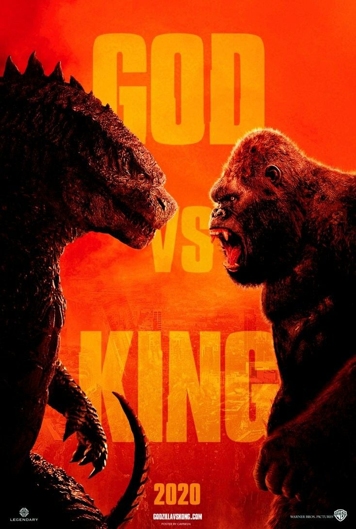 Image result for godzilla vs. kong poster