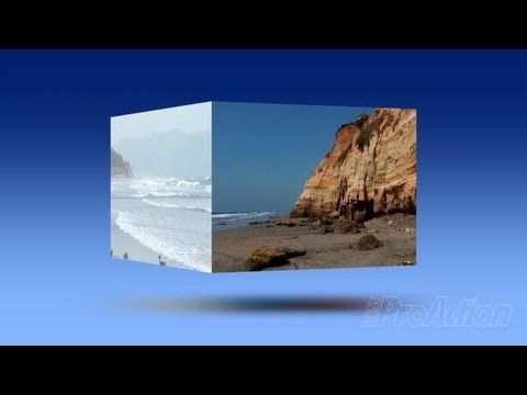How to create a spinning video cube in Adobe Premiere Pro  - YouTube