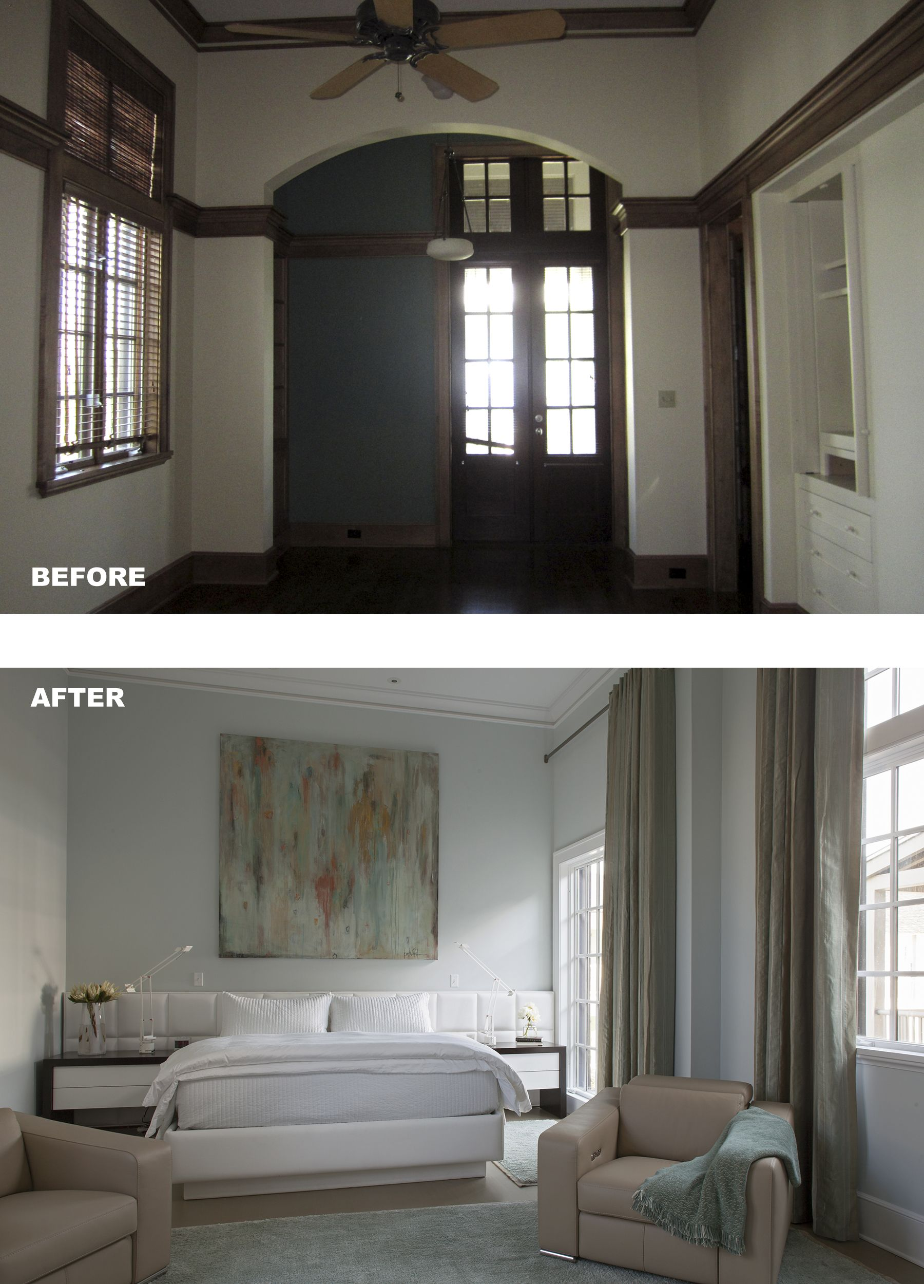 Bedroom Renovation Before And After Master Bedroom Renovation Before And After  Architect A Boheme