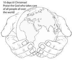 Bible Memory Verse Coloring Sheet Prek Earth Day Earth