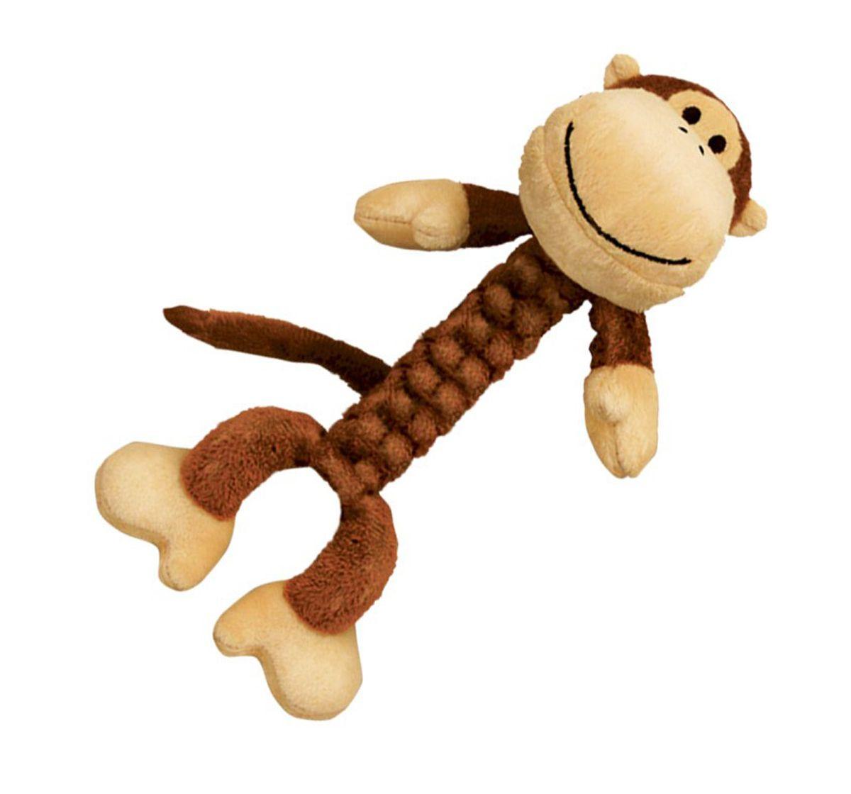 Kong Braidz Monkey Dog Toy Medium Dog Toys Pet Toys Cool Cat
