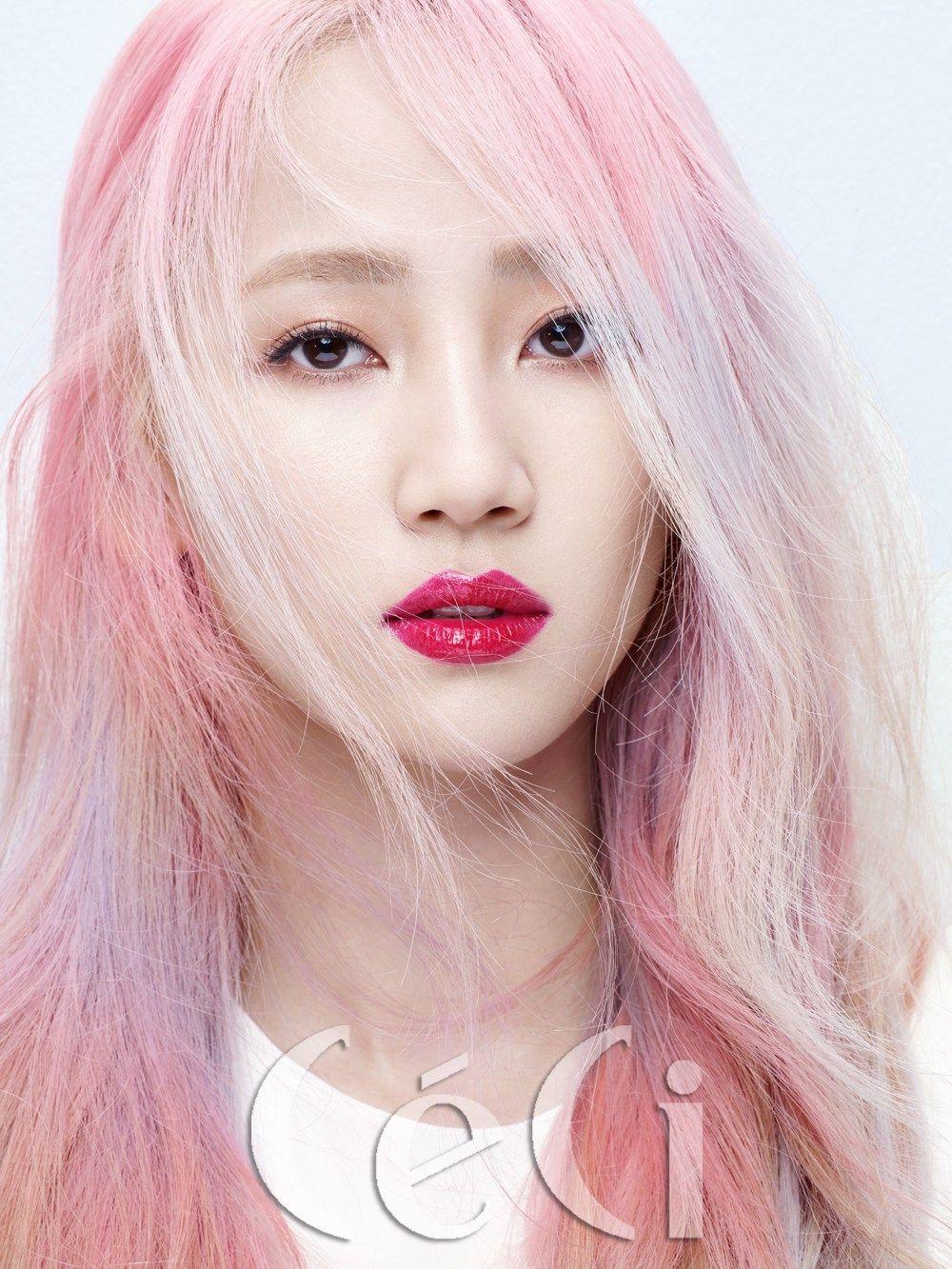 hyerim, yeeun & sunmi – ceci photoshoot | korean beauties