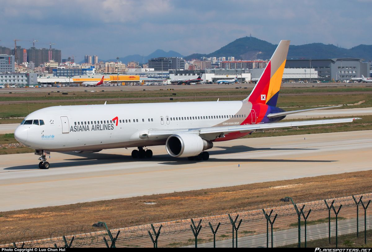 HL7514 Asiana Airlines Boeing 767-38E