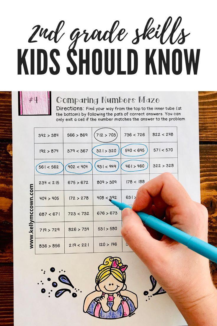 Photo of 2nd Grade Summer Math Review