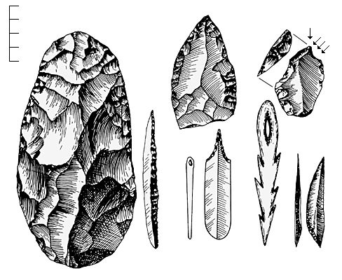 Outils du paléolithique