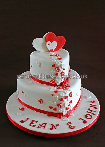 Wedding cake 689 red white hearts wedding cake white red and white wedding cakes 5385331114d625ecdbcbg junglespirit Image collections
