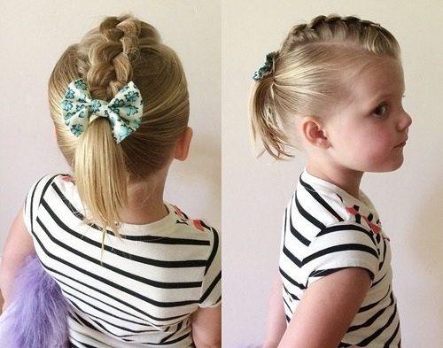 20 adorable toddler girl hairstyles. Toddler hairstyles short hair ...