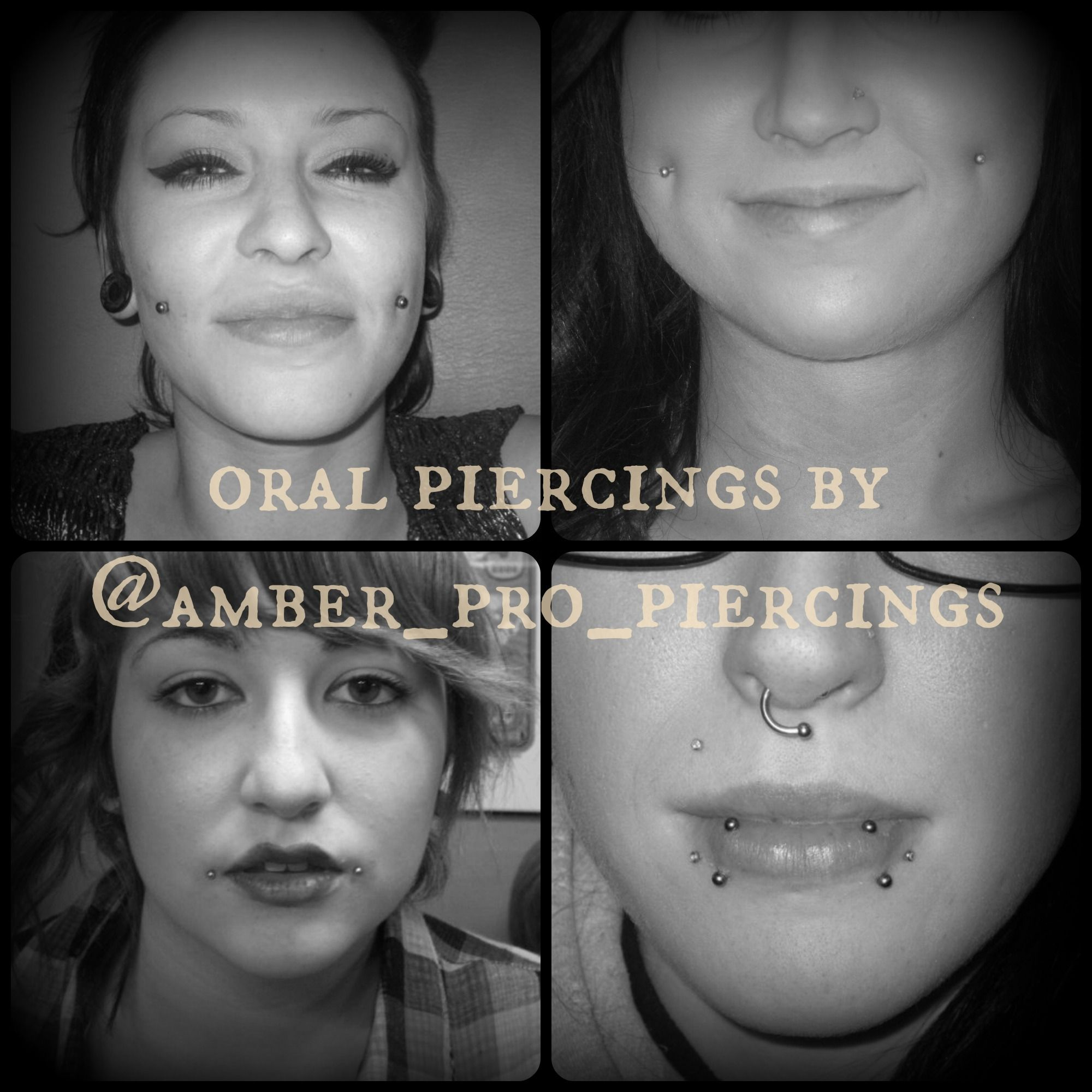 Cute lip piercing ideas  Pin by Pharaoh Tattoo Studio on Piercings and Microdermals by Amber