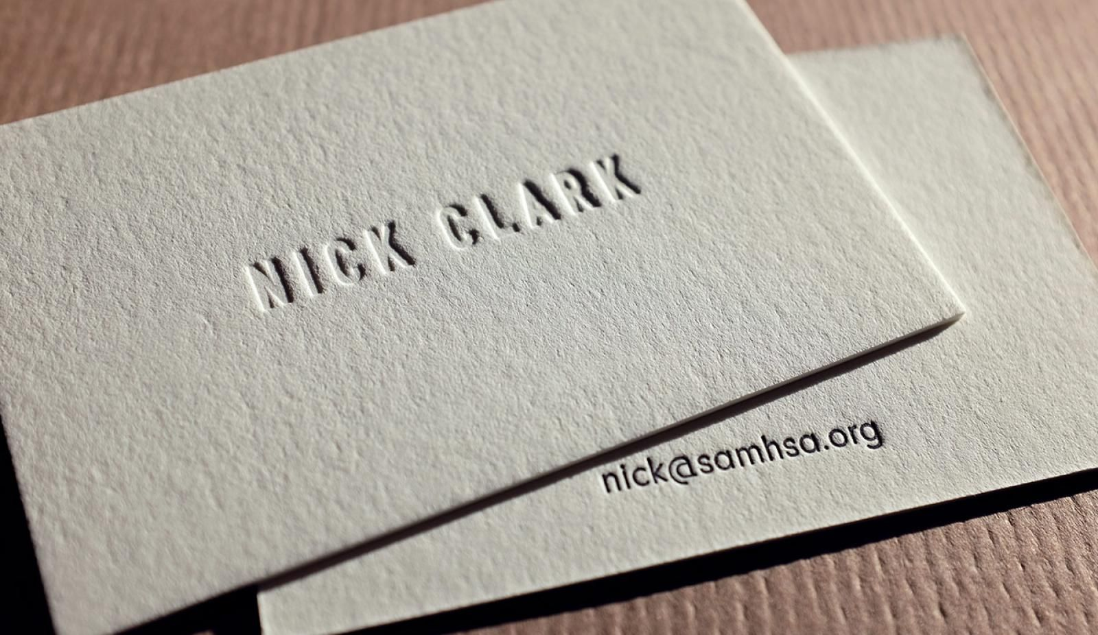 Calling Cards Hoban Cards The Requisite Card Letterpress