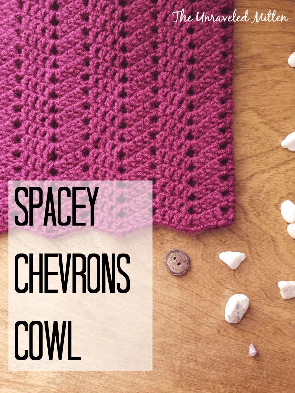 Spacey Chevrons Cowl Crochet Pattern | Pinterest