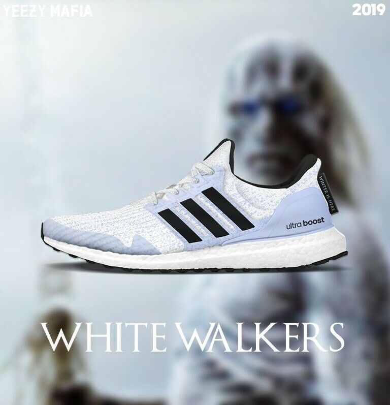 bbbfcb6734f5a 🔥Game of Thrones x adidas Ultra Boost White Walker stark ultraboost 11.5  GOT  shoes  kicks  solecollector