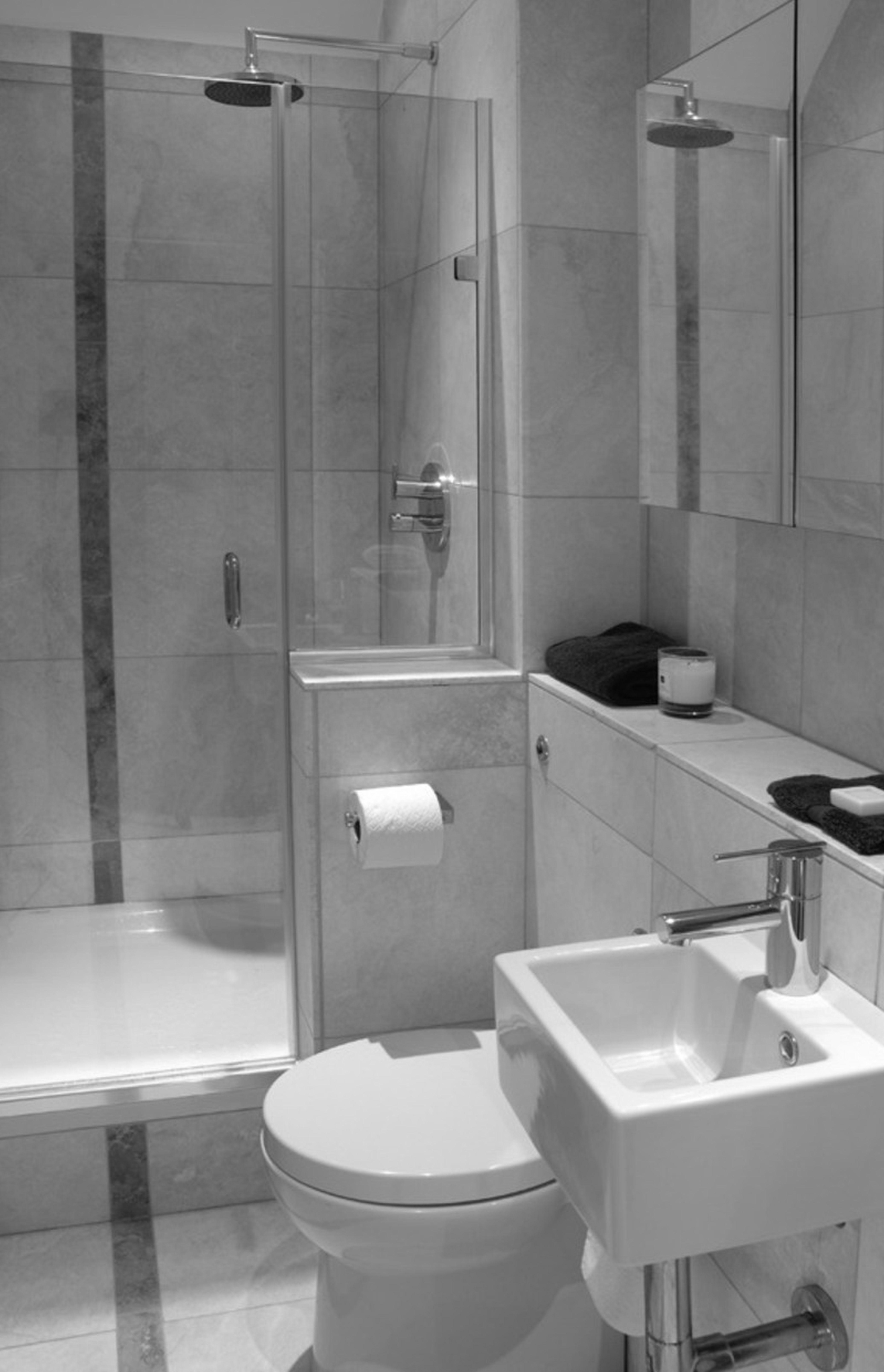 Die Besten Kleine Badezimmer Entwürfe  Kleine badezimmer, Kleines