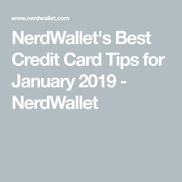 Best Credit Card Tips For April 2020