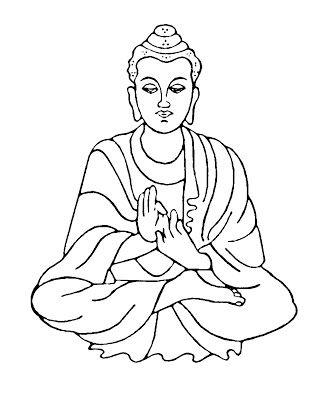 Buddha Clip Art Bmp 327 400 Buddha Drawing Buddha Painting Buddha Art