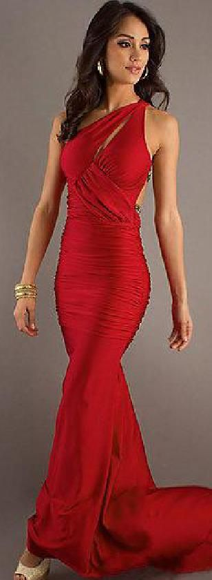 Cute Long Elastic woven satin Red Sleeveless Evening Dress Sale tkzdresses14502gh #redpromdress #promdress