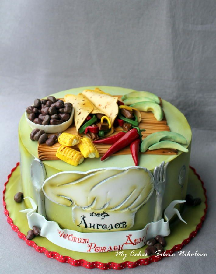 Mexican Food Cake by marulka_s
