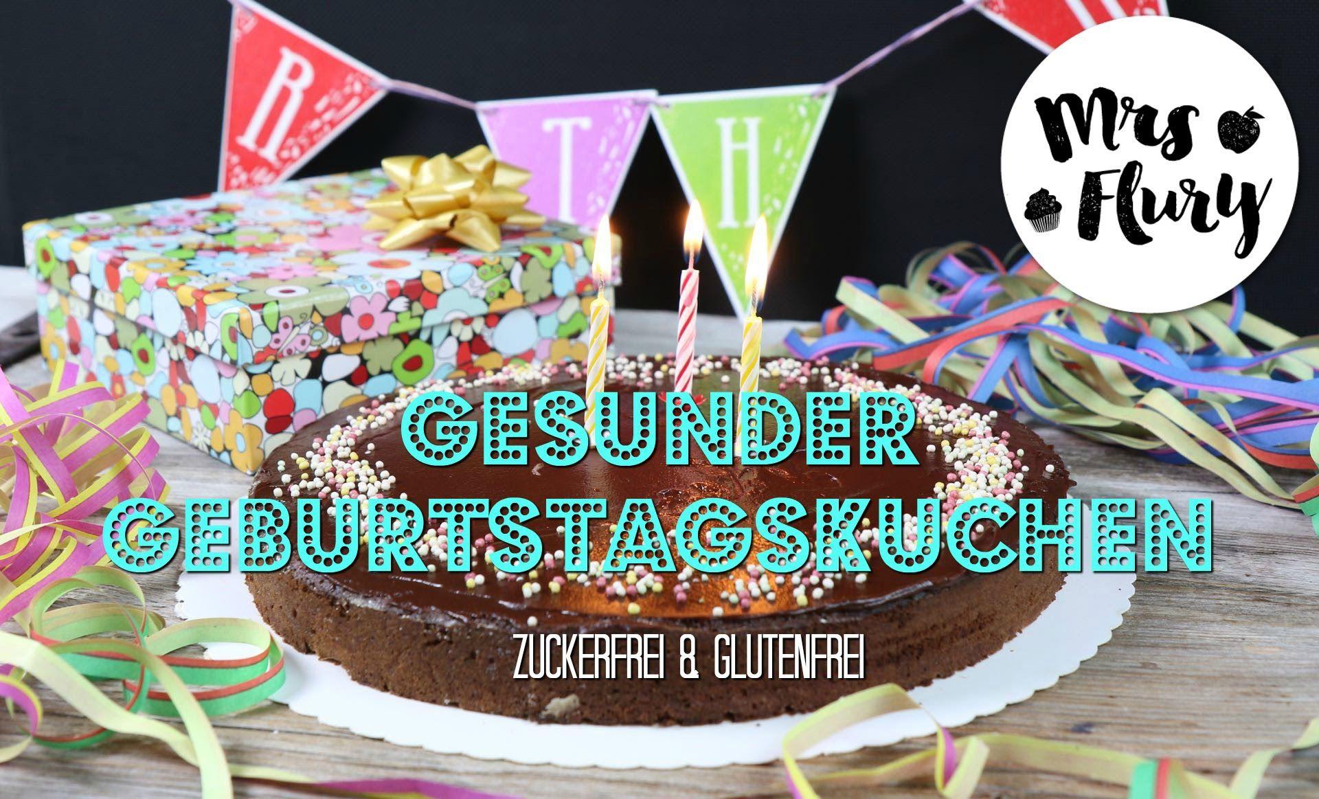 Gesunder Geburtstagskuchen den alle lieben   Rüeblitorte zuckerfrei & gl...