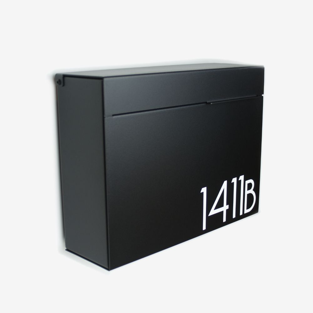 Mitch B Vsons Design Modern Mailboxes Modern Mailbox Wall Mount Mailbox Mounted Mailbox