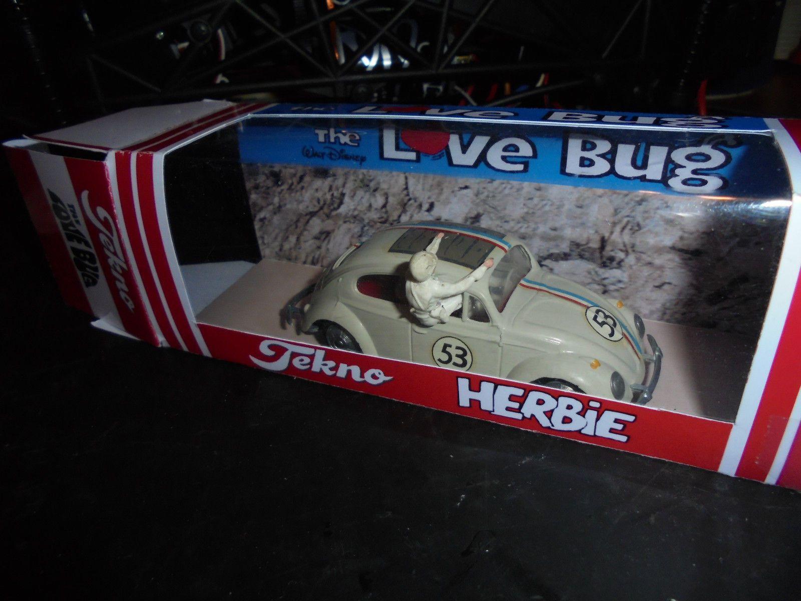 Herbie The Love Bug By Tekno Cool Toys Love Bugs German Steel [ 1200 x 1600 Pixel ]