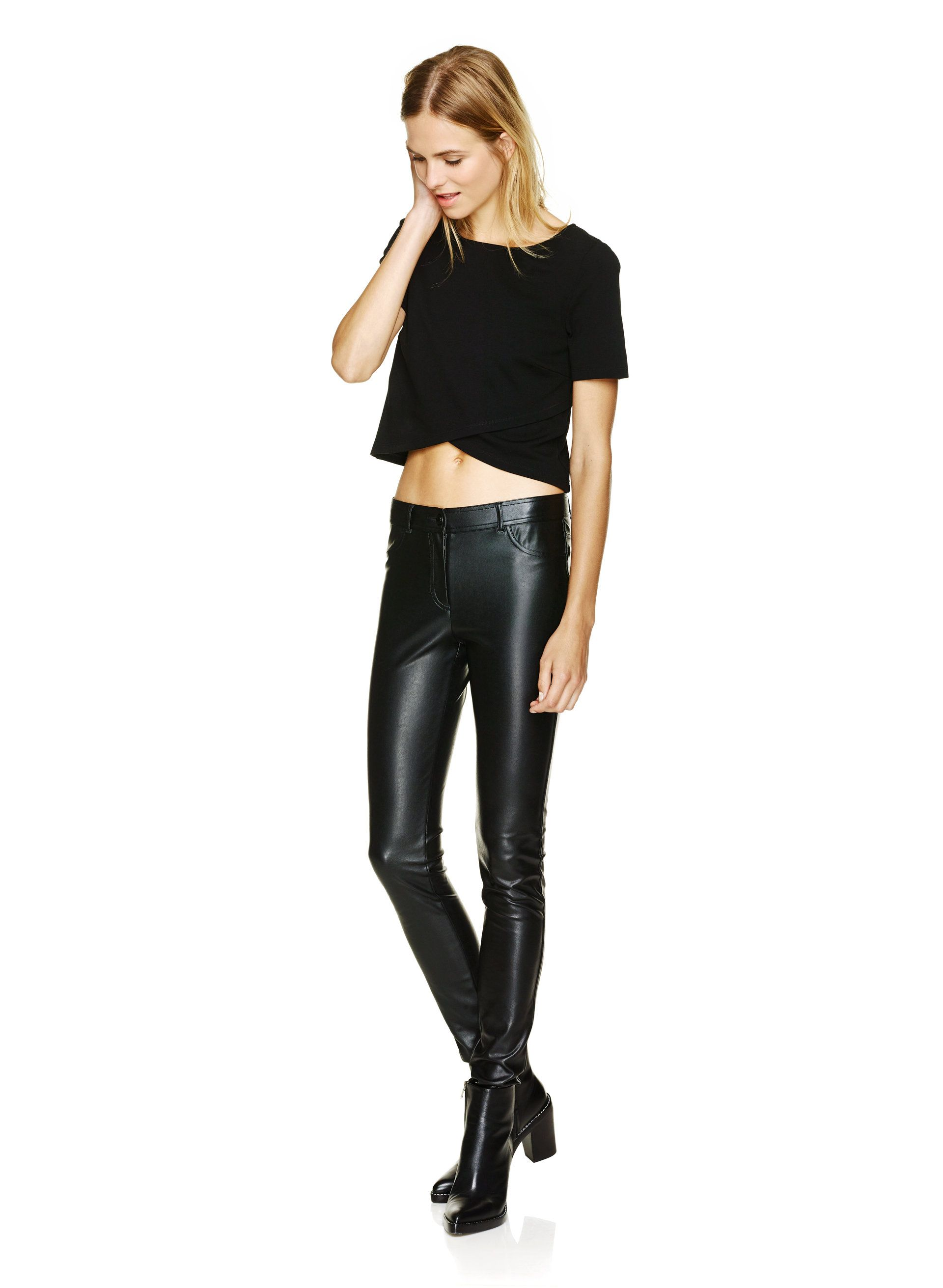 44abd916633f9 Wilfred Free SAUVAGE PANT | Aritzia | fall/winter fashions | Leather ...