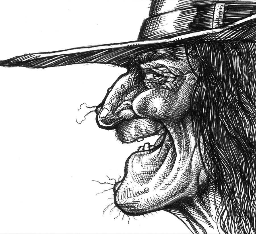 Line Drawing Of Witches Face : Ciota czyli słowiańska czarownica czarownice ale piĘkne