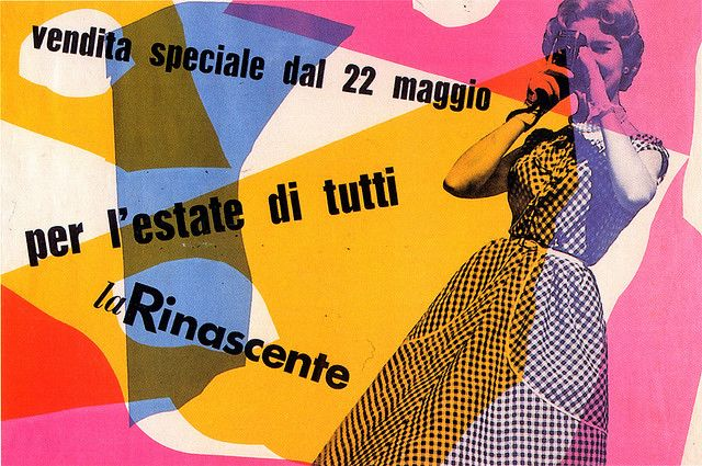 Bruno Huber Libros Max Huber - La Rinascente, 1954 By Laura@popdesign, Via