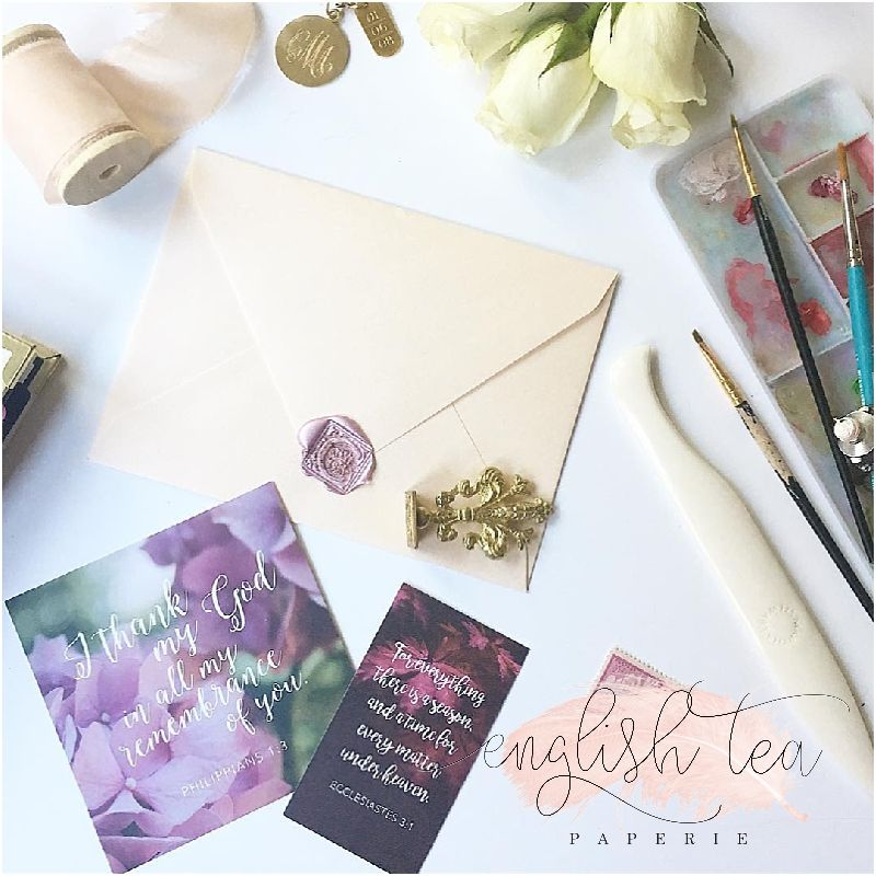 European envelopes with personalized wax seals. Custom made by ...