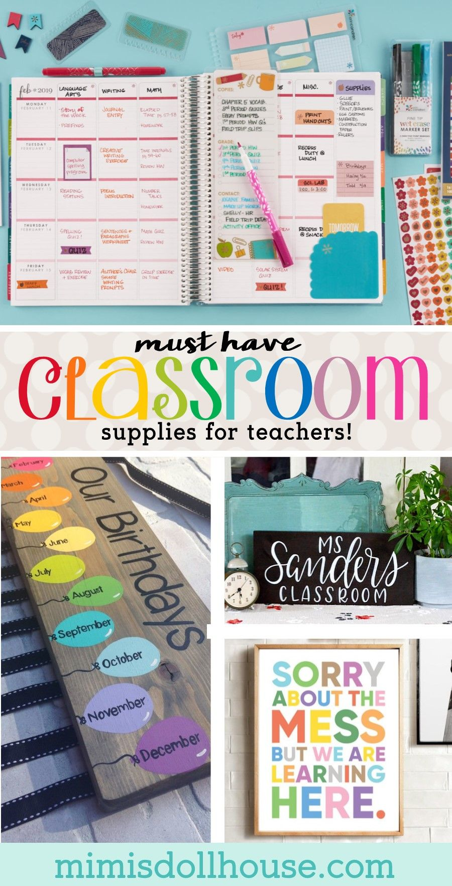 Back to School: Must Have Classroom Supplies for Teachers