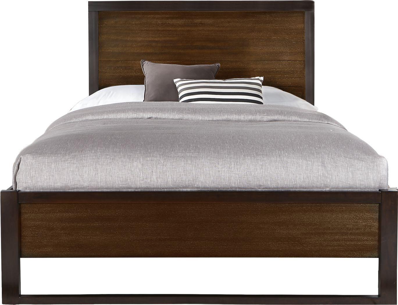 Abbott Hazelnut 3 Pc Queen Panel Bed   Panel bed, Rooms to