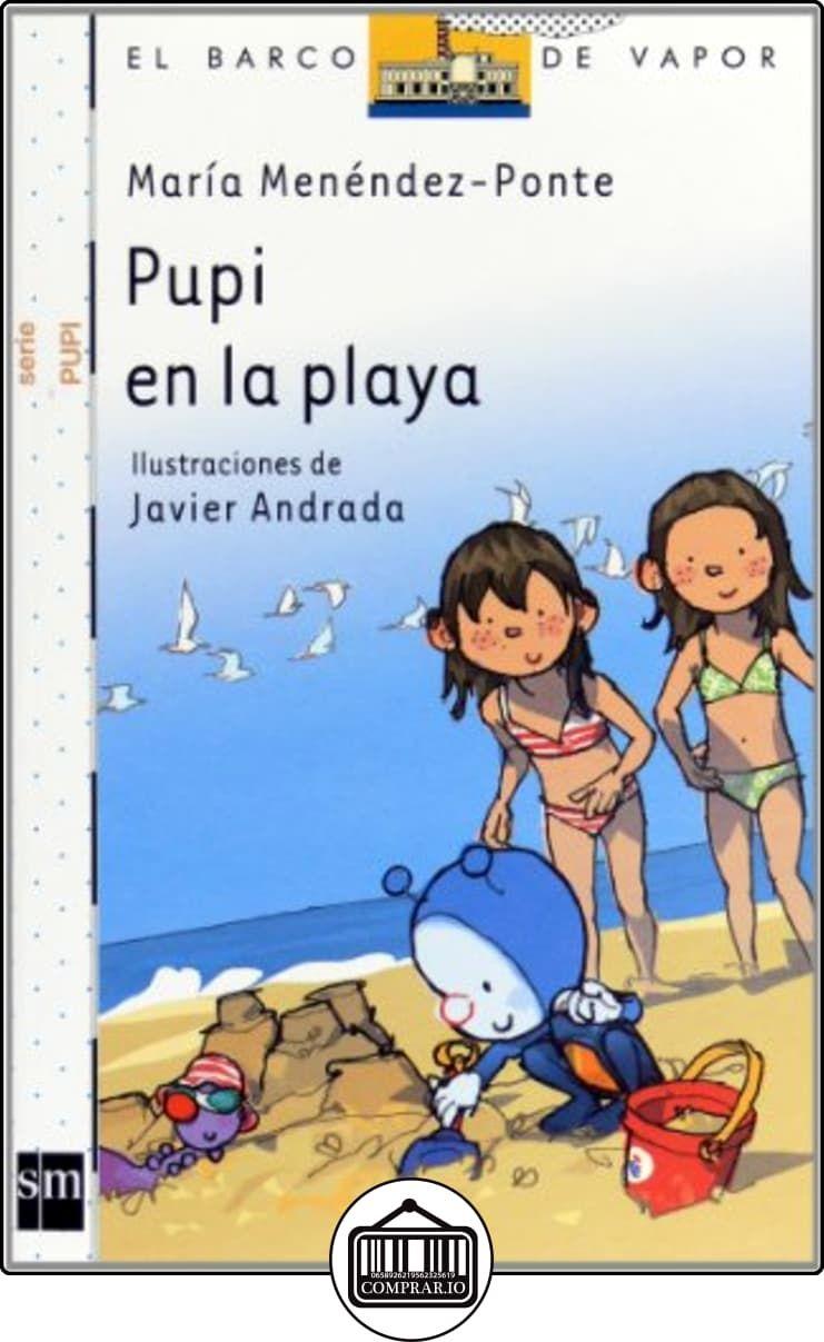 Pupi en la playa (Barco de Vapor Blanca) de María Menéndez-Ponte ✿