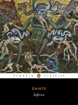 Dante: Inferno (Penguin Classics) by Dante http://www.amazon.co.uk/dp/0140448950/ref=cm_sw_r_pi_dp_CGFFub1FZF6E0