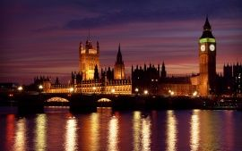 Wallpapers Hd London At Night Voyages