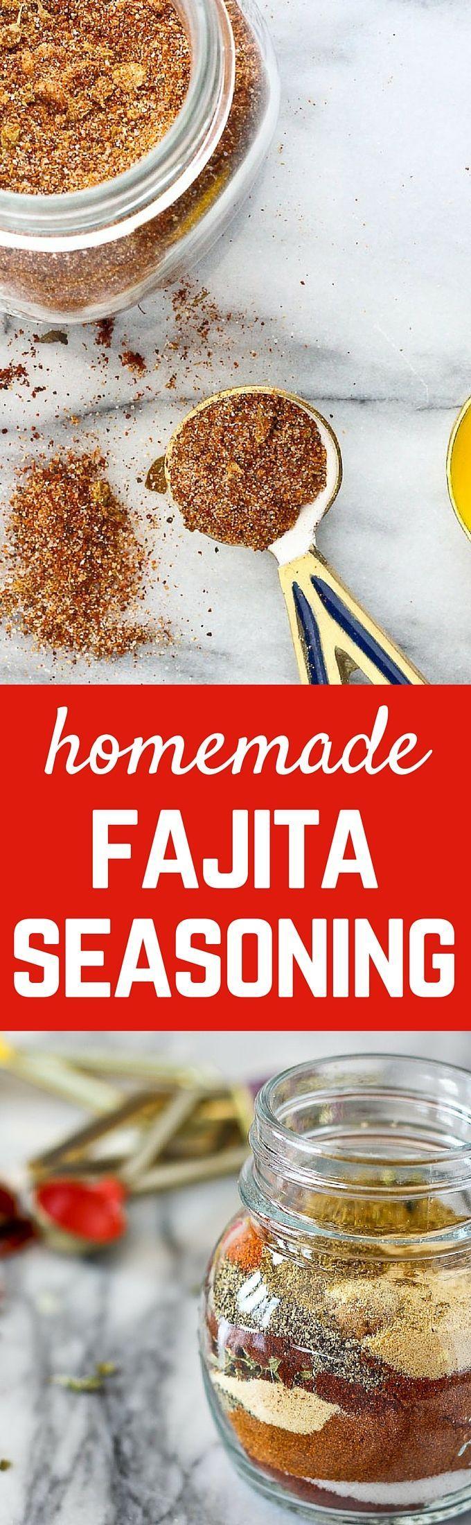 Fajita Seasoning (the best homemade recipe) - with Video!